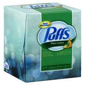 Puffs Tissue Plus Lotion - 124 Count