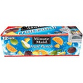 Minute Maid Fruit Punch - 12 pk