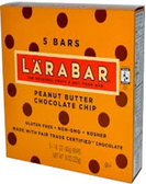 Larabar - Peanut Butter Chocolate Chip -5 bars