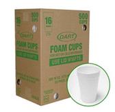 Dart Foam Cups-16oz/1000ct