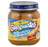 Gerber Graduates Lil Sticks Chicken Sticks