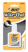 Bic Liquid Whiteout -1ct