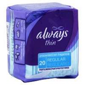 Always Dri-LinersRegular Cleanweave Unscented Pantiliner - 68 Ct