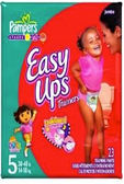 Pamper's Girls Easy Ups 3T - 4T -23ct