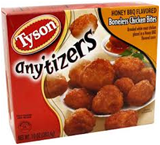 Tyson Frozen Anytizers Popcorn Chicken -25.5 oz