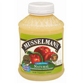 Musselman's Natural Unsweetened Apple Sauce -46 oz
