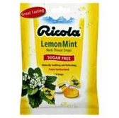 Ricola Sugar Free Lemon Mint Lozenges - 19 Count