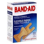 Johnson and Johnson Band Aid Finger And Knuckle Bandages - 20 Co