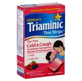 Triaminic Wild Berry Children Daytime Cough Cold Thin Strips-14c