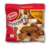 Tyson Frozen Anytizers Honey BBQ Chicken Wings-10 oz