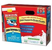 Horizon Organic Reduced Fat Milk w/DHA - 3 pk