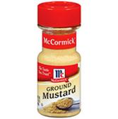 McCormick Ground Mustard -0.85