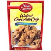 Betty Crocker Walnut Chocolate Chip Cookie Mix -17.5 oz
