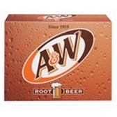 A & W Root Beer - 12 pk