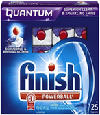Finish - Quantam Powerball w/Baking Soda -25ct