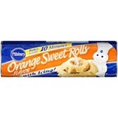 Pillsbury Flaky Supreme Orange Sweet Rolls with Icing - 11 oz