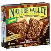 Nature Valley Crunchy Dark Chocolate Granola Bar -6 pk