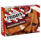 T.G.I. Fridays Appetizers Mozzerella Sticks w/ Sauce-11 oz