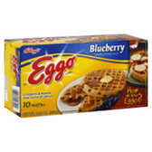 Kellogg's Eggo Blueberry Waffles -10 ct