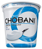 Chobani Greek Yogurt Plain -  64 Oz