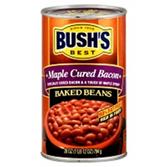 Bush's Maple Cured Bacon Beans -16 oz