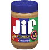 Jif Extra Crunchy Peanut Butter -40 oz