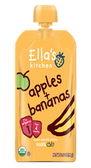 Ella's Kitchen - Apples & Bananas -3.5oz