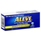 Aleve Naproxen Sodium Caplets - 200 Count