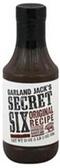 Garland Jack's Secret 6 - Original Barbecue Sauce -18oz