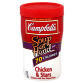 Campbell's - Soup at Hand - Chicken & Stars-10.75 oz