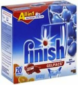 Finish - GelPacs - Orange -20ct