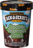 Ben & Jerry's - Chocolate Peppermint Crunch -16oz