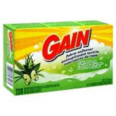 Gain Original Fabric Softner Sheets - 120 Count