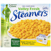 Green Giant Valley Fresh Steamers Sweet Corn & Butter Sauce-12ct