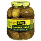 Mt Olive Kosher Pickle Dills -16 oz