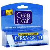 Clean and Clear Maximum Strength Persa Gel - 1 Oz