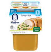 Gerber All Natural - Turkey & Rice -2ct