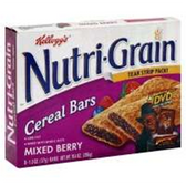 Kellogg's Mixed Berry Nutri-Grain -6 pk