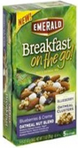 Emerald Breakfast On the Go Bars -Blueberries & Crème Oatmeal-5p
