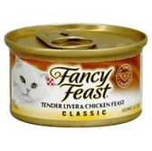 Fancy Feast Cat Food Liver and Chicken - 3 Oz