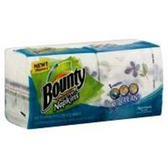 Bounty Napkins Signature Prints - 160 Count