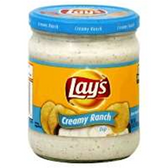 Lay's Smooth Ranch Dip -15 oz