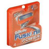 Gillette Fusion Manual Razor Cartridges - 4 Count