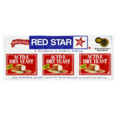 Red Star Dry Yeast - 3 pk