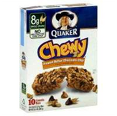 Quaker Chewy Peanut Butter Granola Bar -10 pk