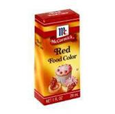 Mccormick Red Food Coloring-1 Fl. Oz