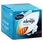 Always Infinity Pads Heavy Flow With Wings - 16 Count