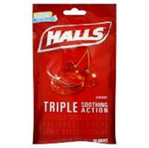 Halls Cherry Cough Drops - 30 Count