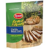 Tyson Frozen Grilled Chicken Breast Fajita -22 oz