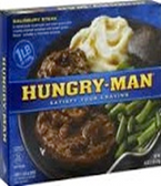 Hungry Man - Salisbury Steak -1 meal